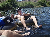 Salt River Tubing May 2009